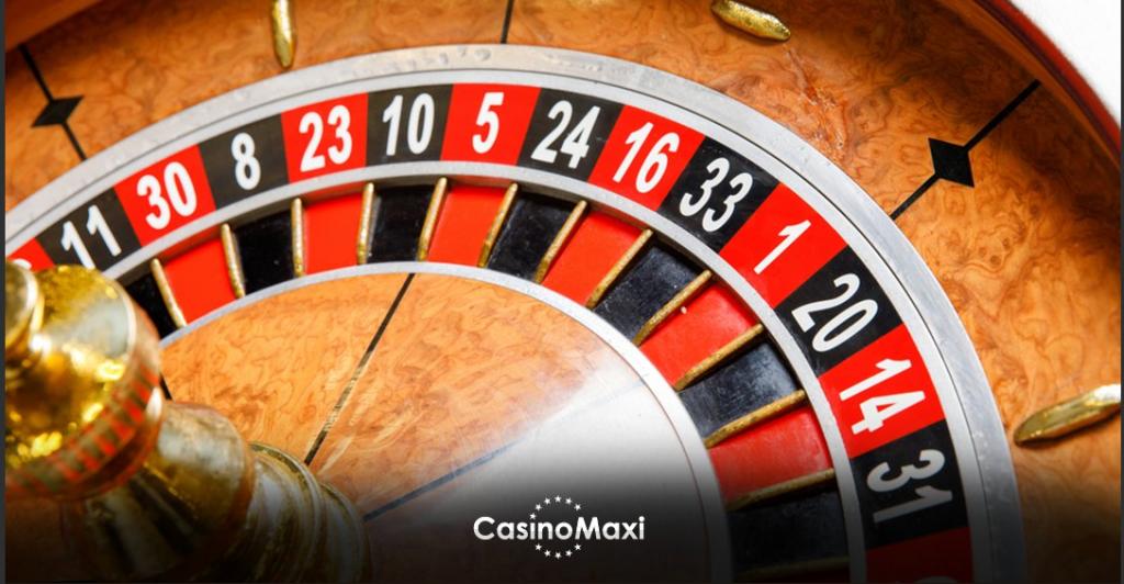 Rulet CasinoMaxi'de oynanır.
